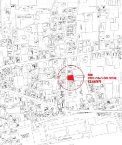 ゼンリン地図 香取市佐原イ3239-12 星野売地価格入り