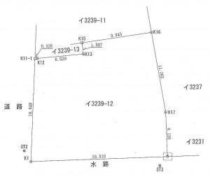 星野売地測量図