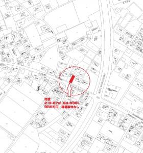 香取市佐原イ2855-2 仁井宿売地