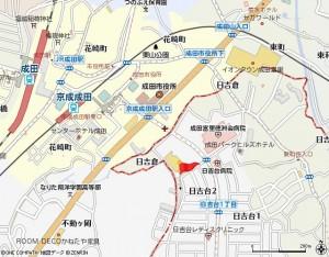 アパガーデンパレス成田広域図JPEG