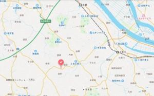油田広域地図